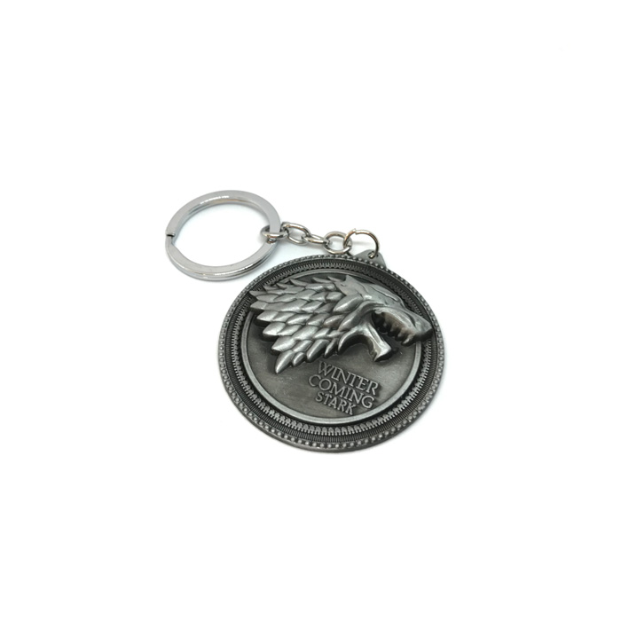 GAME OF THRONES STARK METAL ANAHTARLIK