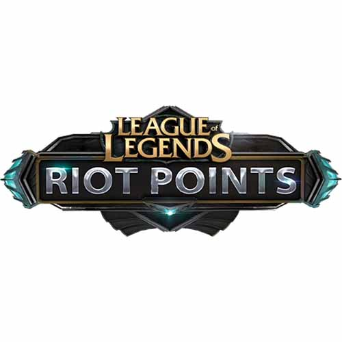 LEAGUE of LEGENDS 6450 Riot Points - 6450 RP (TR SERVER)