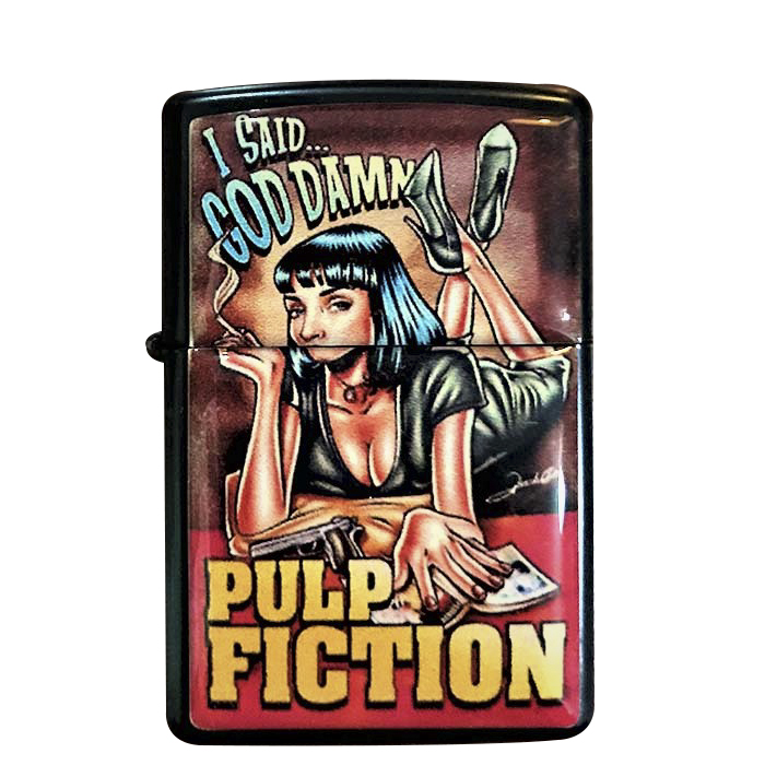 Pulp Fiction Benzinli Çakmak