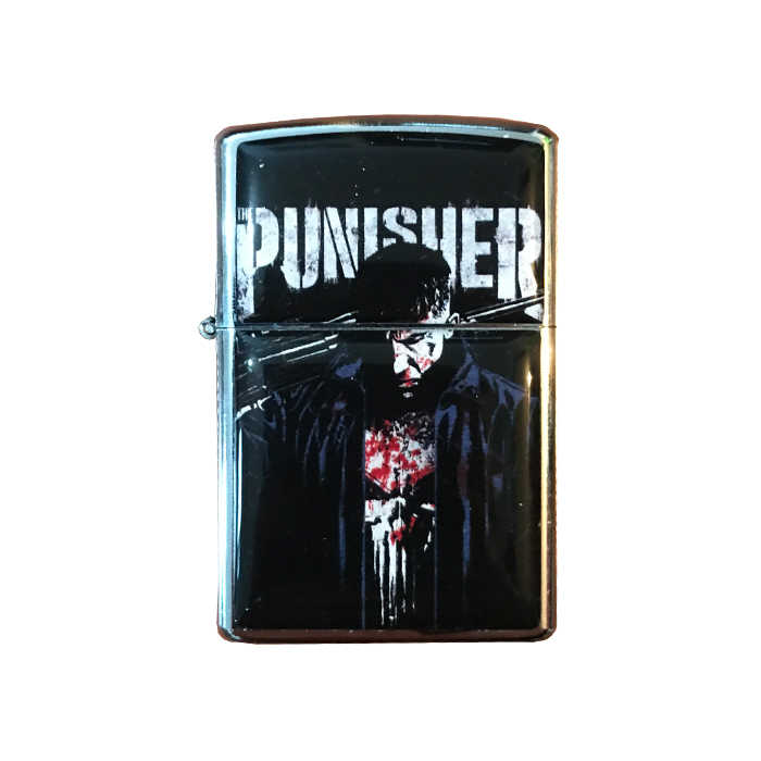 Punisher Benzinli Çakmak - Adam