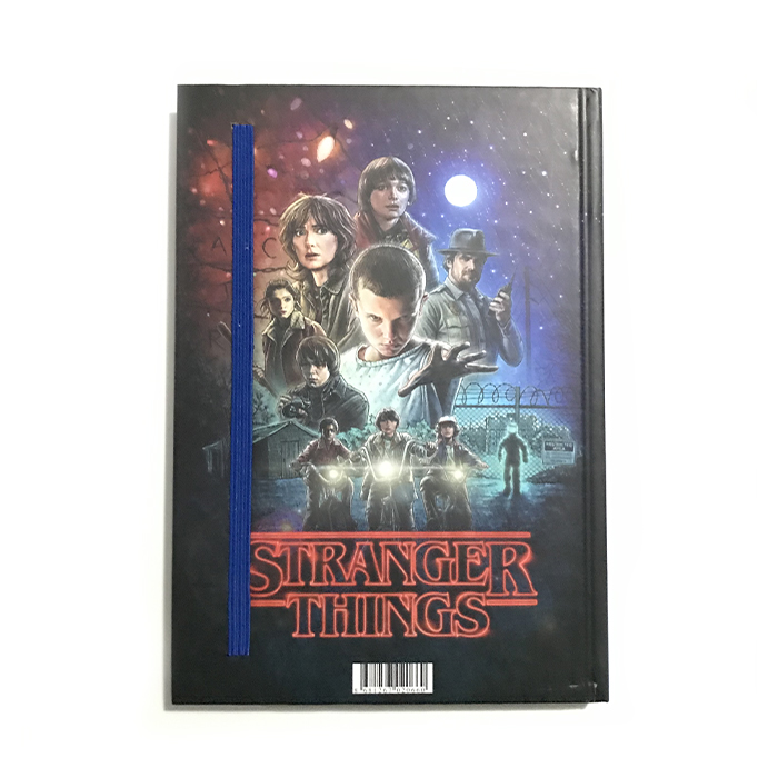 Stranger Things Lastikli Defter