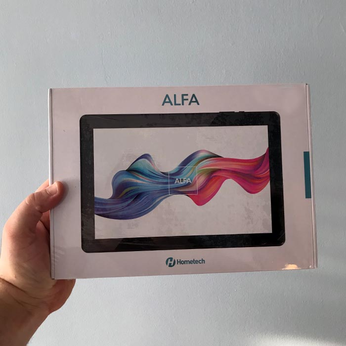 "HOMETECH ALFA 8RC 8"" 1GB 16GB ANDROID8.1 GO WIFI+BT"